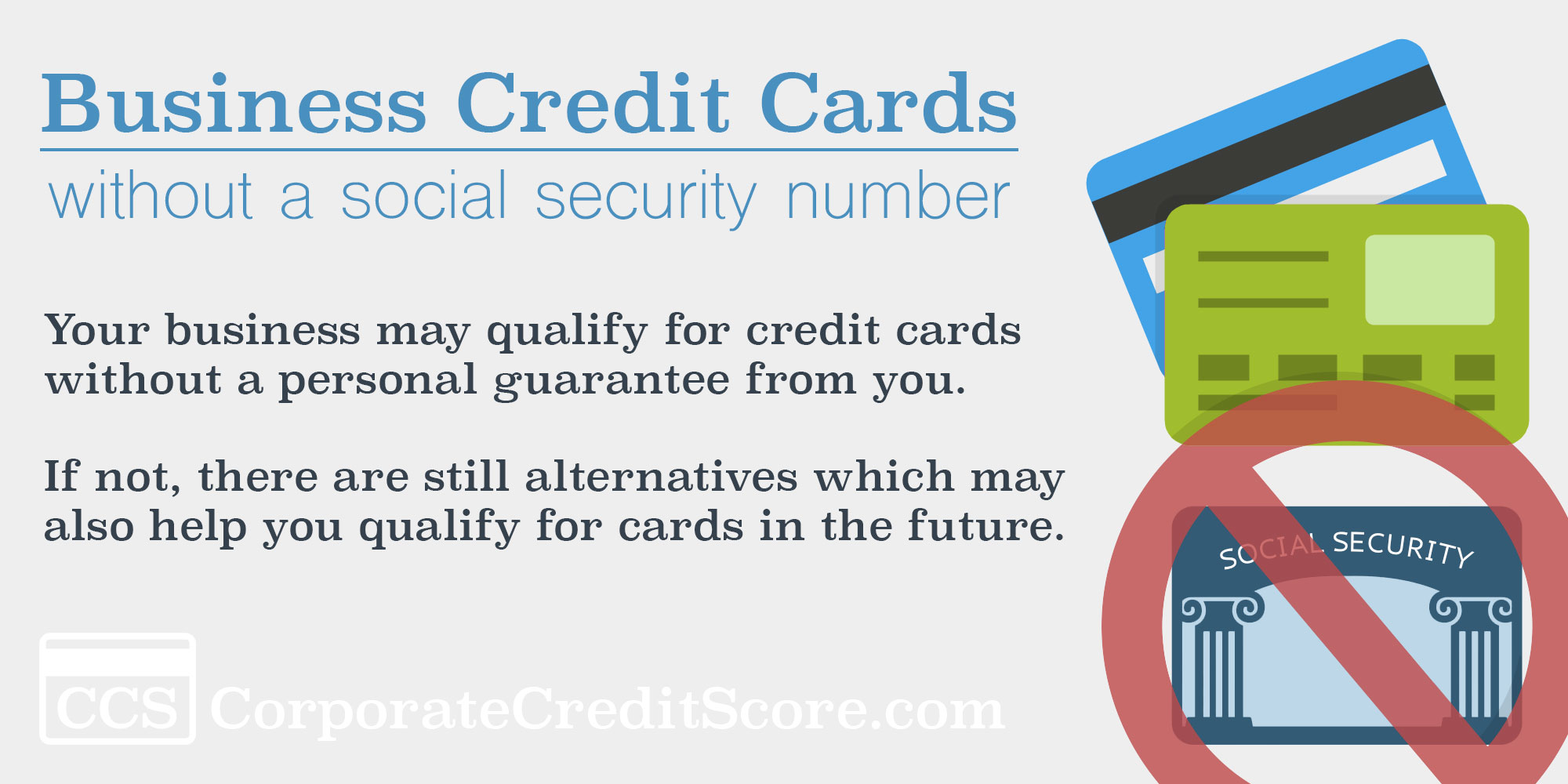 Business credit card no ssn required corporate credit score business credit card no ssn business credit cards without a personal guarantee reheart Images